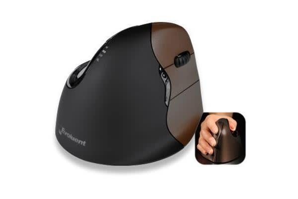 Evoluent VM4RSW Wireless Vertical Mouse 4 - Small