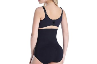Women High Waist Tummy Control Slim Underwear Body Shaper L