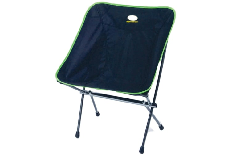 Camp 4 Cayman Lightweight Folding Camping Chair (Black/Lime) (One Size)