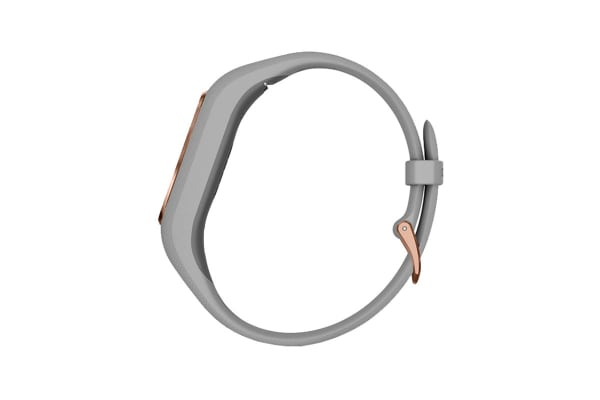 Garmin Vivosmart 4 (Gray with Rose Gold Hardware, Regular)
