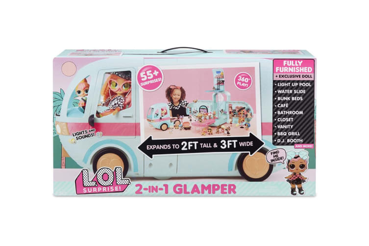 LOL Surprise 2-in-1 Glamper