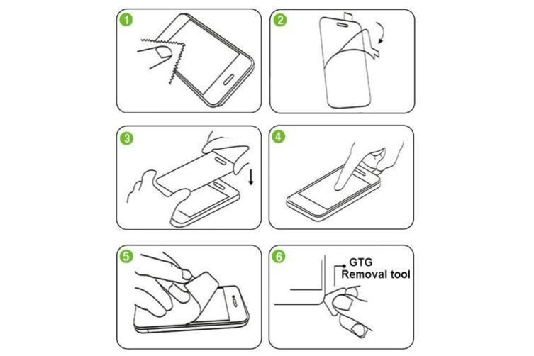 For iPhone 4S 4 High-Quality Tempered Glass 0.26mm 9H Durable Screen Protector
