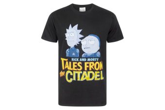 Rick And Morty Mens Tales From The Citadel T-Shirt (Black)