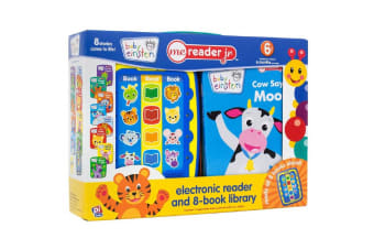 Baby Einstein ME Reader Jr. - Electronic Reader and 8-Book Library