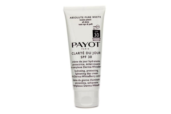 Payot Absolute Pure White Clarte Du Jour SPF 30 Hydrating Protecting Lightening Day Cream (Salon Size) (100ml/3.3oz)
