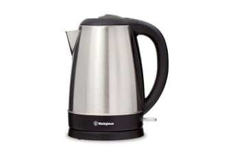 Westinghouse 1.7L 2200W Cordless Kettle Jug Boiler Coffee/Tea Stainless Steel