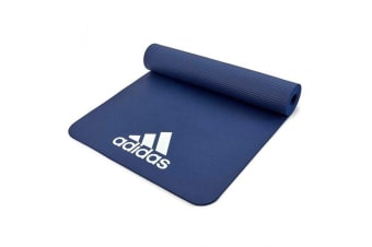 Adidas 7mm Training/Fitness Gym/Home Padded/Rollable/Lightweight Travel Mat BL