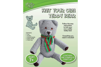 Knit Your Own Teddy Bear