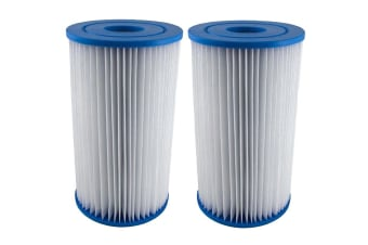 2 X Intex Type A / Krystal Clear Cartridge Filter Element