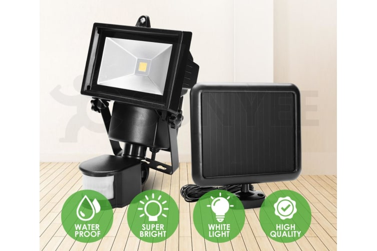 ATEM POWER COB LED Solar Sensor Light Outdoor Security Floodlights Garden Motion