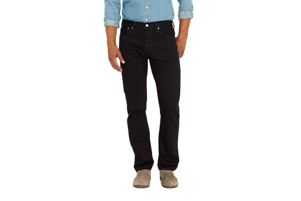 Levi's Men's 501 Original Fit Jeans - Black (Size 30)