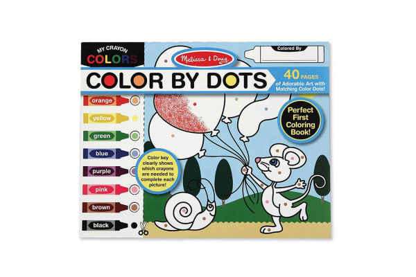 Melissa and Doug Colour by Dots Colouring Pad