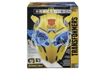 Transformers MV6 Bumblebee Bee Vision Mask AR Experience