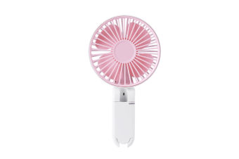 Portable Hand-Held Rechargeable Small Fan Foldable Mini Fan - Pink Pink 20.3X11X4.3Cm