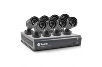 Swann 8 Channel 1080p Full HD DVR-4580 1TB HDD with 8 x Bullet Cameras (SWDVK-845928V-AU)
