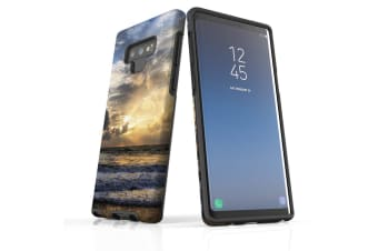 For Samsung Galaxy Note 9 Case Armour Tough Cover  Romantic Sunset