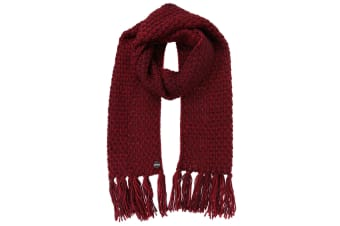 Regatta Great Outdoors Womens/Ladies Kaena Knitted Fringe Scarf (Delhi Red) (One Size)