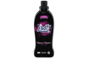 Fluffy 1L Fabric Softener Concentrated Laundry/Clothes 40 Washes Spice Allure