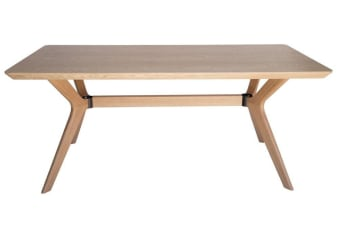 Doreen Collection | Wood Dining Table | Natural | 180cm