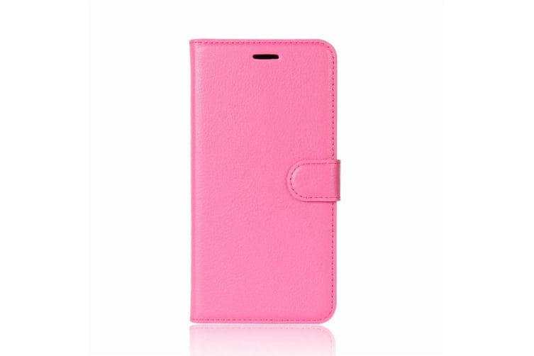 For Samsung Galaxy Note 8 Wallet Case Modern Lychee Leather Cover Magenta
