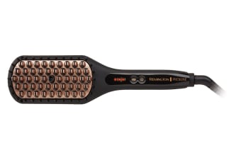 Remington Proluxe Salon Straightening Brush (CB7480AU)