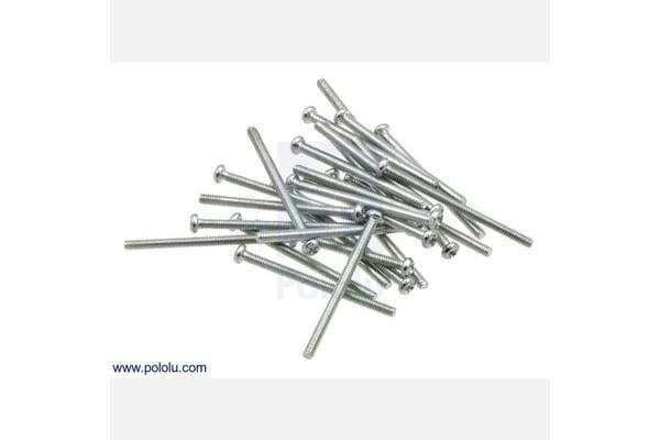 "Machine Screw: #2-56, 1 1/4"" Length, Phillips (25-pack)"