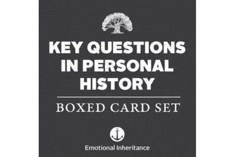 Key Questions in Personal History - Boxed Card Set