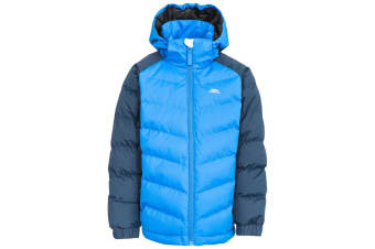 Trespass Childrens Boys Sidespin Waterproof Padded Jacket (Navy) (7/8 Years)
