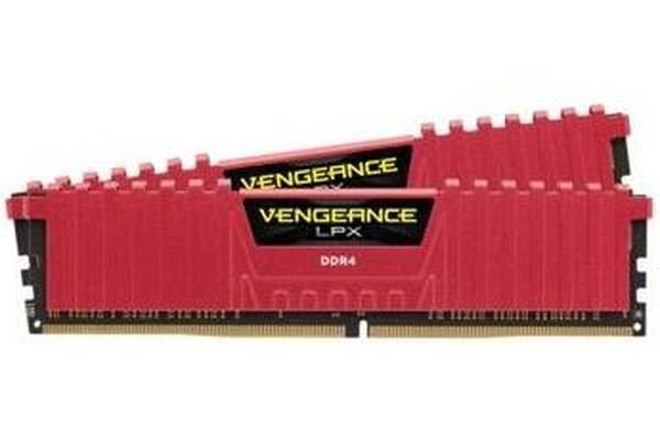 Corsair 8GB (2x4GB) DDR4 2133MHz Vengeance LPX Red