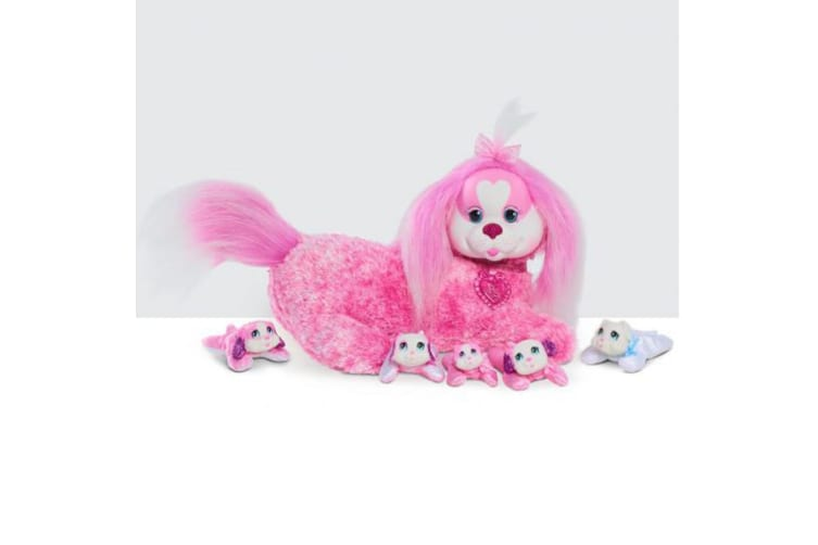Puppy Surprise Plush Darcy and her Puppies