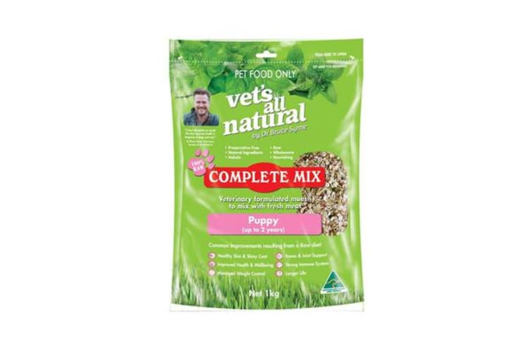 Vets All Natural Complete Mix for Puppies 1KG