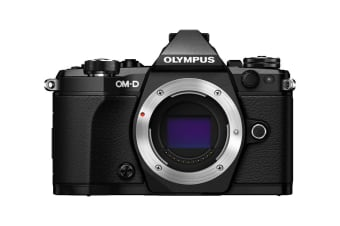 Olympus OM-D E-M5 Mark II Mirrorless Camera Pro Kit with EZ-M1240 Lens - Black