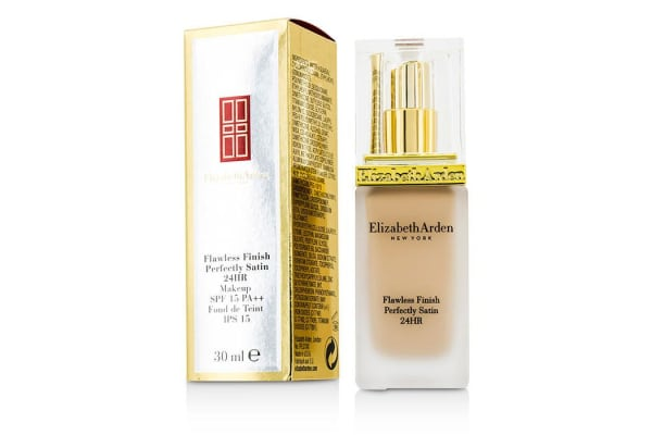 Elizabeth Arden Flawless Finish Perfectly Satin 24HR Makeup SPF15 - #01 Alabaster (30ml/1oz)