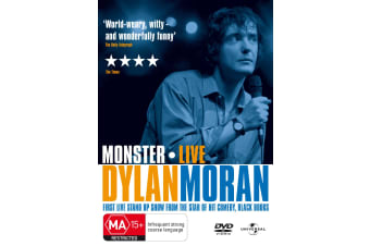 Dylan Moran Live Monster DVD Region 4