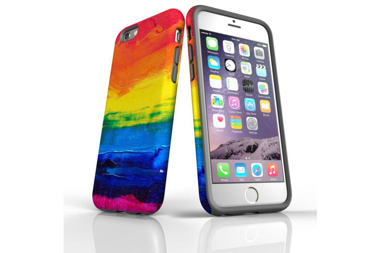 For iPhone 6S & 6 Shielding Back Case  Colours of a Sunset