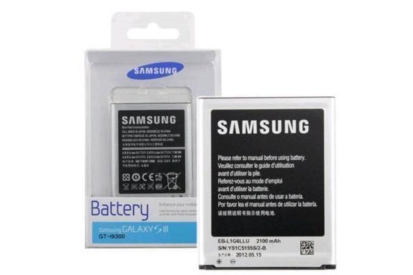 OEM Samsung Galaxy S3 I9300 I9305 EB-L1G6LLU Battery equipped with an NFC antenna (2100mah) ( with