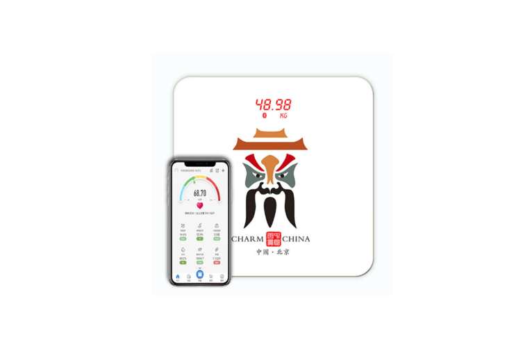 Bluetooth Body Fat Scale,Body Composition Analyzer With Smartphone App