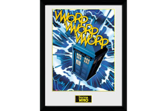 Doctor Who Tardis Framed Picture (Multi-colour) (One Size)