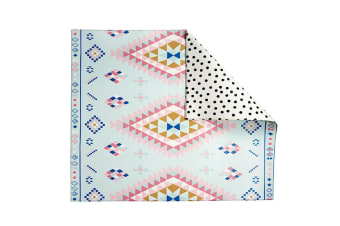 Play with Pieces - Playmat - Moroccan Rug/Polka Dot