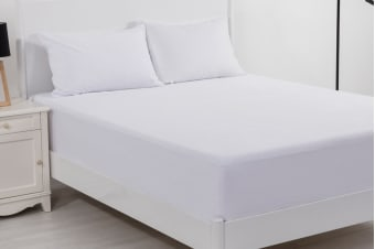 Bianca Velour Touch Deluxe Cotton Waterproof Mattress Protector