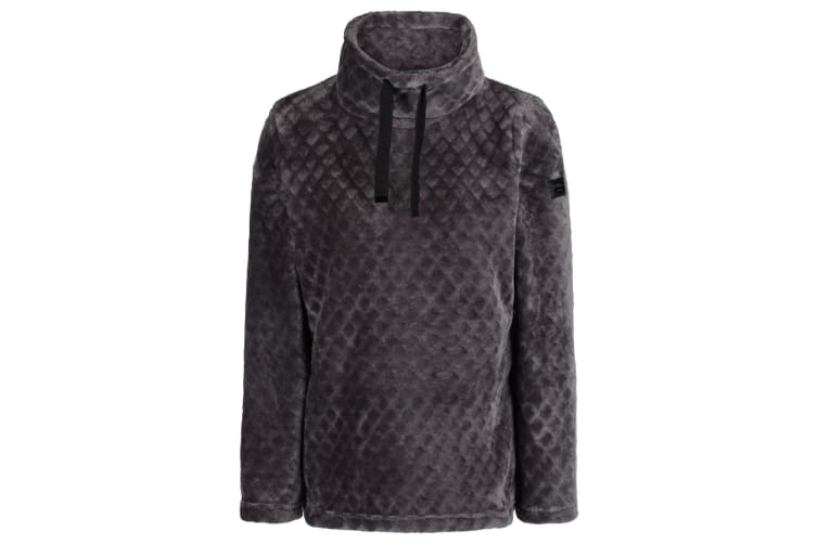 Regatta Womens/Ladies Haniska Diamond Pile Fleece (Magnet Grey) (20 UK)