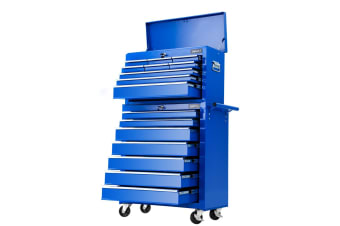 Giantz 16 Drawers Tool Box Chest Cabinet Trolley Boxes Toolbox Garage Storage