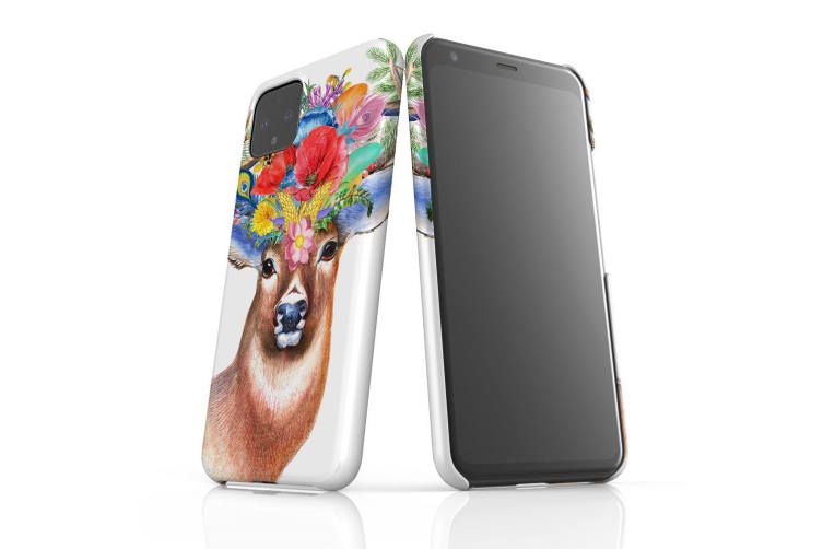 For Google Pixel 4 XL Snap Case Lightweight Protective Slim Unique Cover Stag