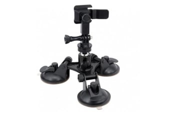 Armor-X (X-Mount) - X76T Triple Suction Cup Mount (Only Fit Armox-X Tablet Case with  X-Mount Type-T