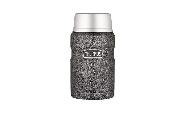Thermos Stainless King S/S Vacuum Insulated Food Jar 710ml Hammertone
