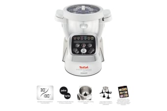 Tefal 1500W Cuisine Companion Auto Electric Cooker Chopper Mixer Food Processor
