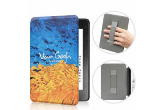 Leather Case Ultra Slim Magnetic Cover For Amazon All-new Kindle 10th Gen 2019-NO1 Pattern