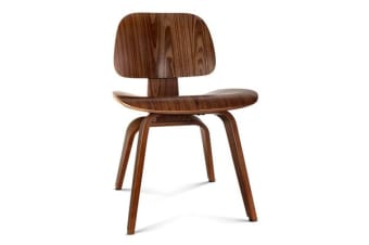 Artiss Wooden Dining Chair (Walnut)