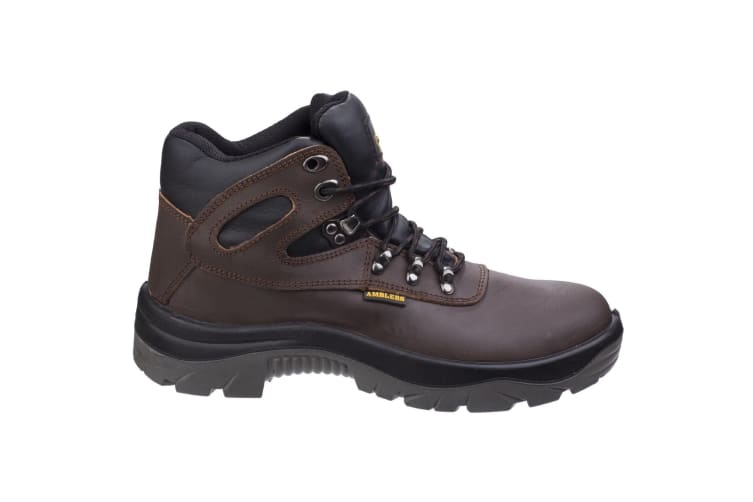 Amblers Safety AS253 Mens Leather Safety Boots (Brown) (9 UK)