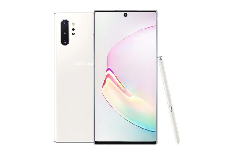 Samsung Galaxy Note10+ Dual SIM (256GB, Aura White)